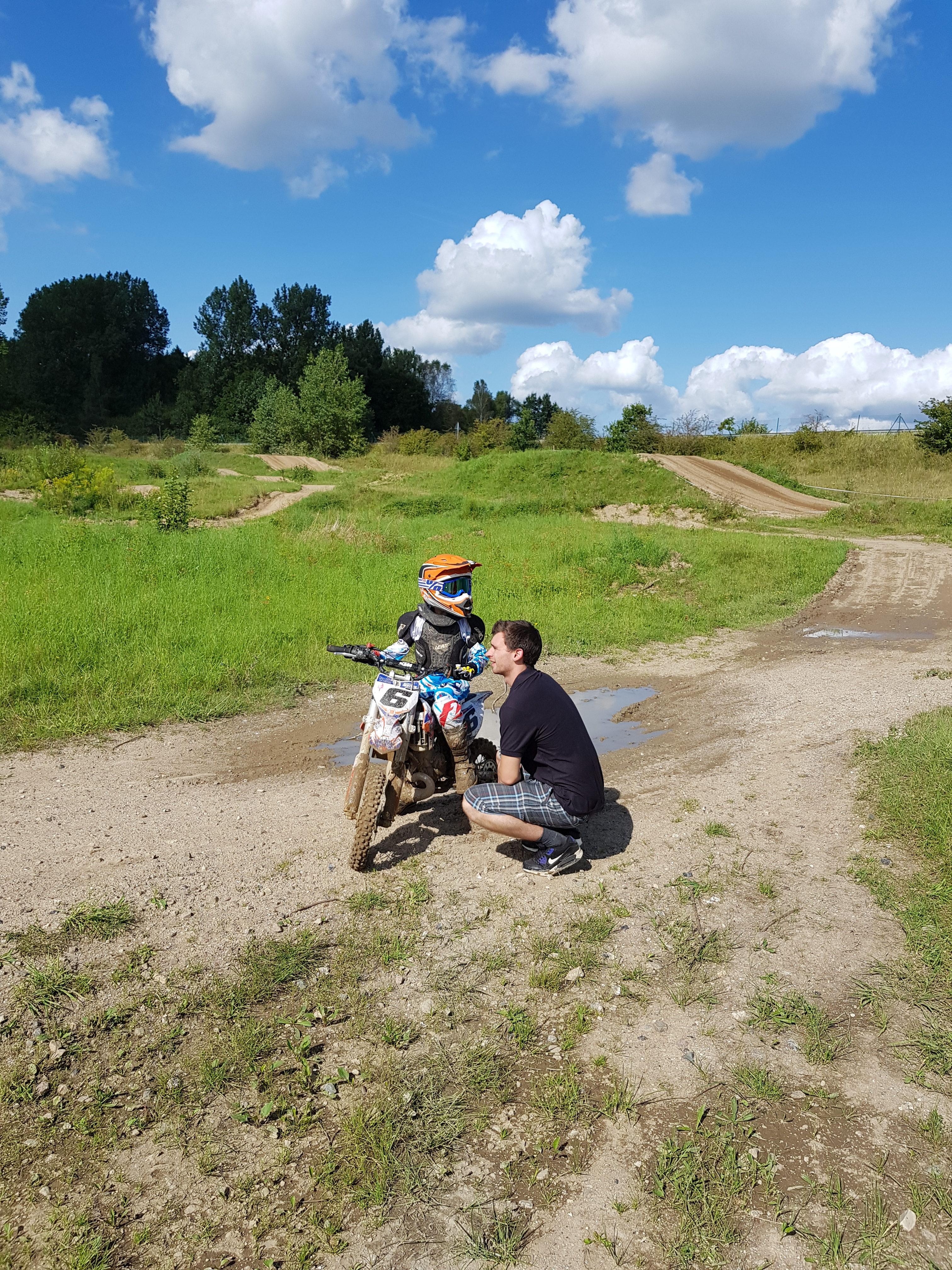 Training mit Dennis #82 und Luca #6 @ Reesdorf